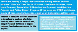 College Offer Letter Process